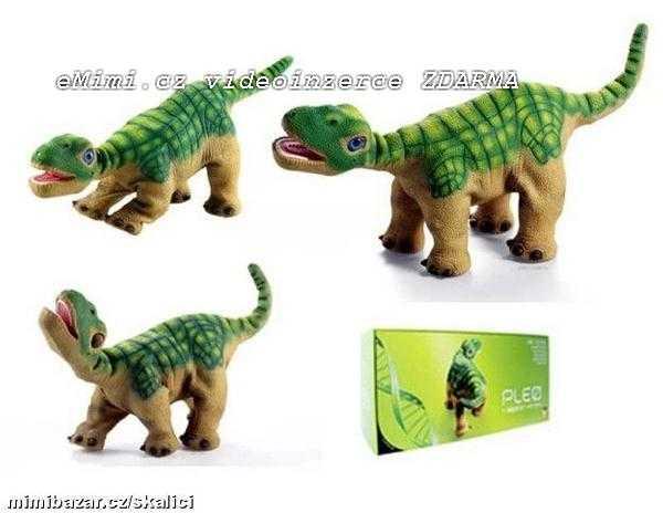 0c9145d55c4 První HIGH-tech hračka- roboticky dinosaurus PLEO