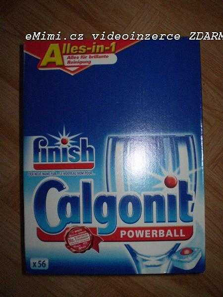 CALGONIT POWERBALL FINISH ALLES-IN-1