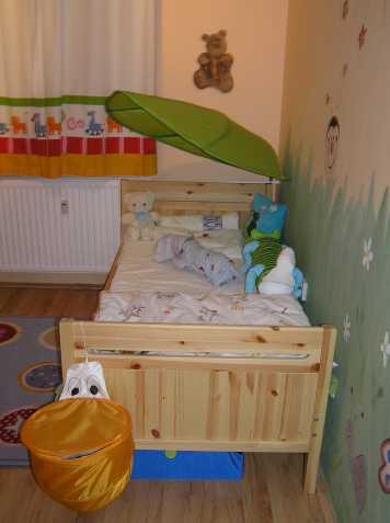 Dětská rostoucí postel Ikea
