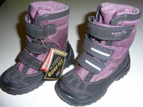 Nové zimní boty Superfit s GORE-TEX 03e6be25ee